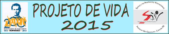 projeto de vida 2015
